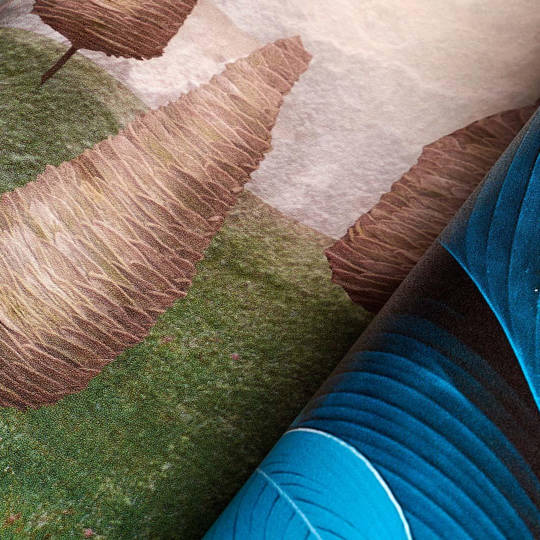 struktura drobny piasek (sand) winyl na flizelinie, idealna do biura - materiał fototapety